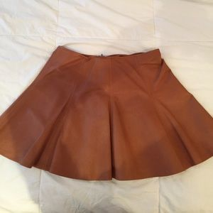 Ralph Lauren leather skirt